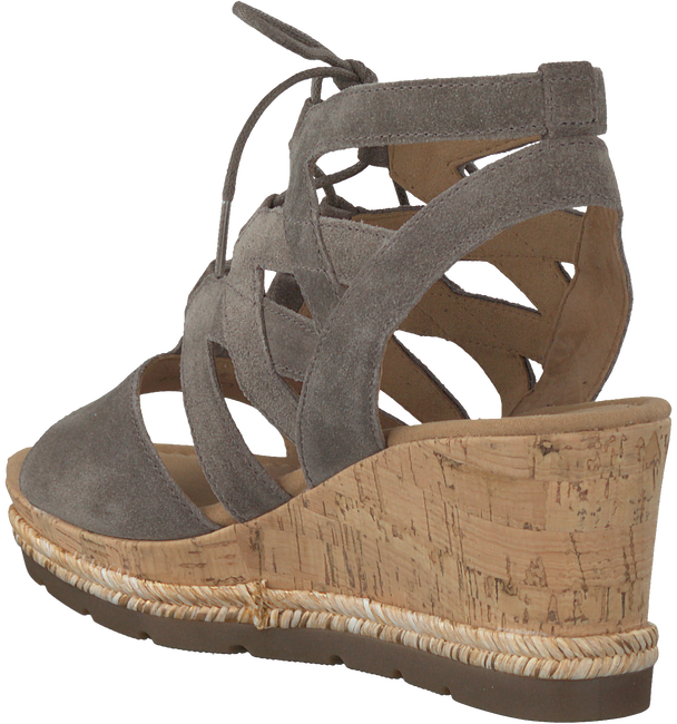 Taupe GABOR Sandalen 875  - large