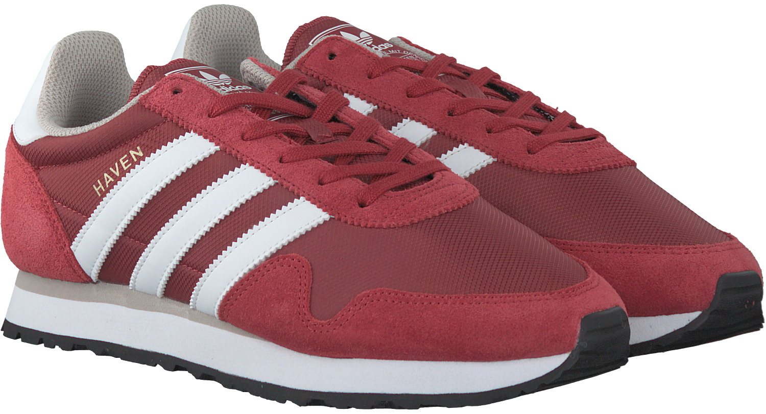 Rode ADIDAS Sneakers HAVEN - Omoda.nl