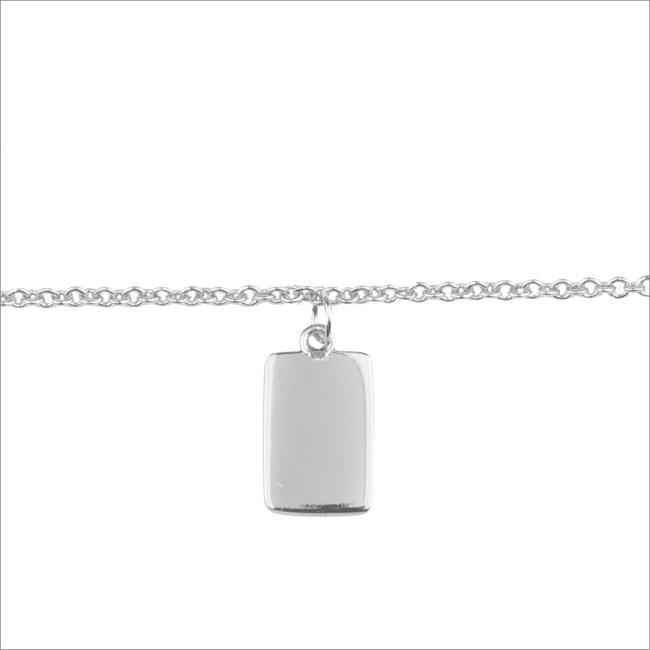 Zilveren ATLITW STUDIO Armband SOUVENIR EARRINGS RECTANGLE - large