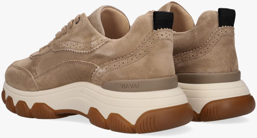 Taupe VIA VAI Lage sneakers COCO  - larger