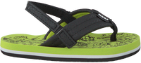Groene REEF Slippers GROM REEF FOOTPRINTS  - medium