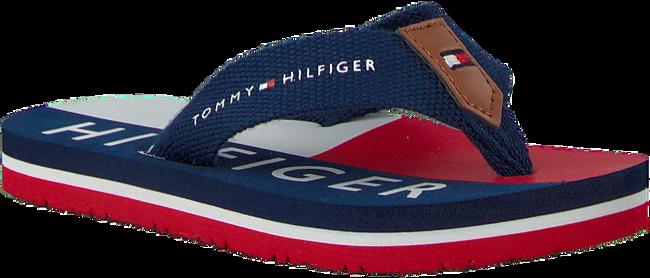 Blauwe TOMMY HILFIGER Slippers FLAG PRINT FLIP FLOP  - large