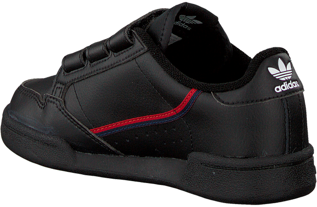 Zwarte ADIDAS Lage sneakers CONTINENTAL 80 CF C  - large