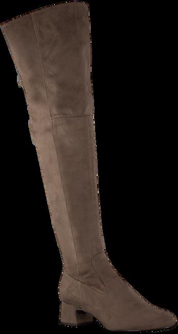 Taupe UNISA Overknee laarzen LUKAS  - large
