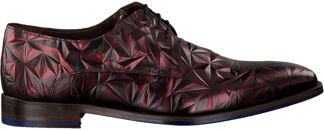Rode FLORIS VAN BOMMEL Nette schoenen 14237  - large