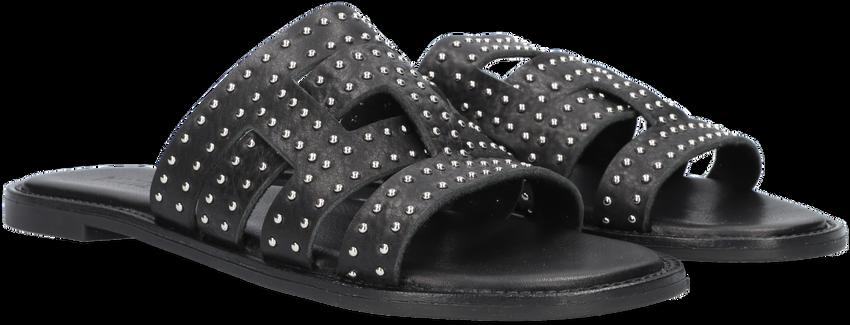 Zwarte NOTRE-V Slippers 10306  - larger