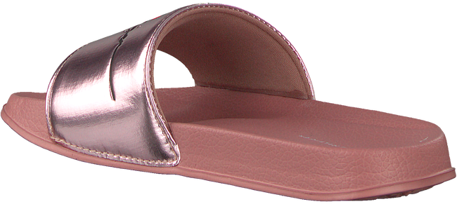 Roze TOMMY HILFIGER Badslippers HEART PPINT POOL SLIDE  - large