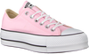 Roze CONVERSE Sneakers CTAS LIFT OX CHERRY BLOSSOM/W - small