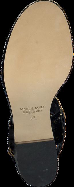 Zwarte JANET & JANET Sandalen 41408  - large