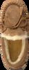 Cognac WARMBAT Pantoffels FJORDA WOMEN SUEDE  - small