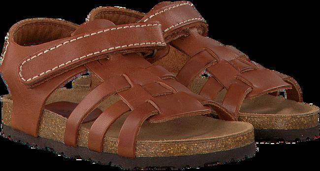 Bruine CLIC! Sandalen ARGOS - large
