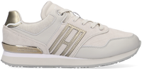 Grijze TOMMY HILFIGER Lage sneakers CASUAL MATERIAL MIX CITY RUNNE  - medium