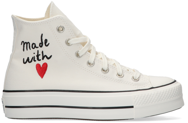 Witte CONVERSE Hoge sneaker CHUCK TAYLOR ALL STAR LIFT HI  - large