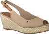 TOMMY HILFIGER ESPADRILLES ICONIC ELBA BASIC SLING BACK - small