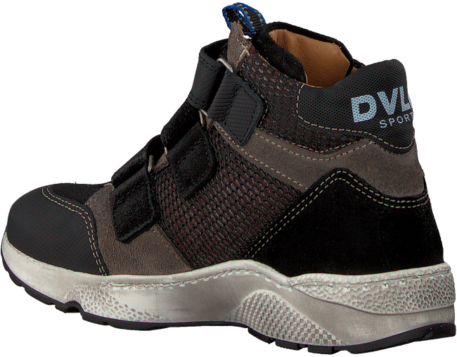Zwarte DEVELAB Hoge sneaker 41863  - large