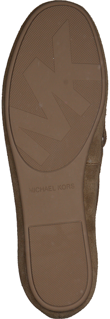 Beige MICHAEL KORS Mocassins SUTTON MOC  - large