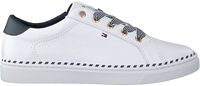Witte TOMMY HILFIGER Lage sneakers NAUTICAL LACE UP  - medium