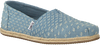 Blauwe TOMS Espadrilles ALPARGATA W  - small