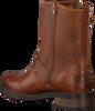 Cognac BRUNOTTI Biker boots MARCIANA MID  - small