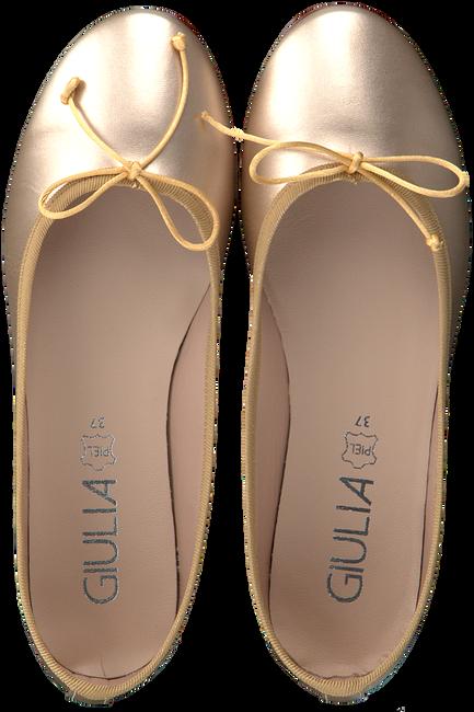Gouden GIULIA Ballerina's G.12.BALLERINA  - large