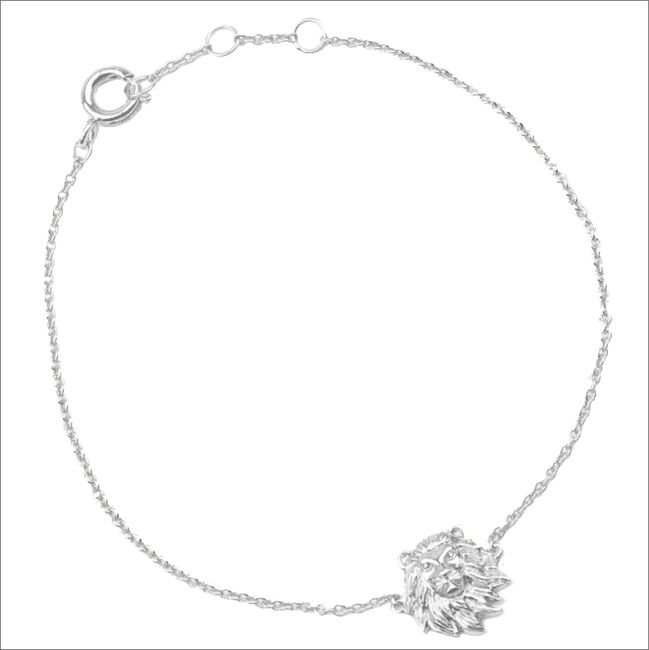 Zilveren ATLITW STUDIO Armband SOUVENIR BRACELET LION - large