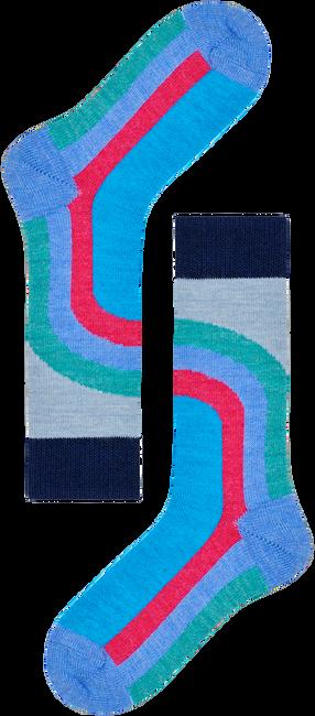 Blauwe HAPPY SOCKS Sokken HYSTERIA LULU MID HIGH SOCK  - large