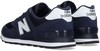 Blauwe NEW BALANCE Lage sneakers ML574  - small