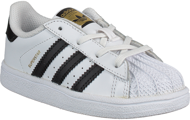 Witte ADIDAS Sneakers SUPERSTAR I  - large