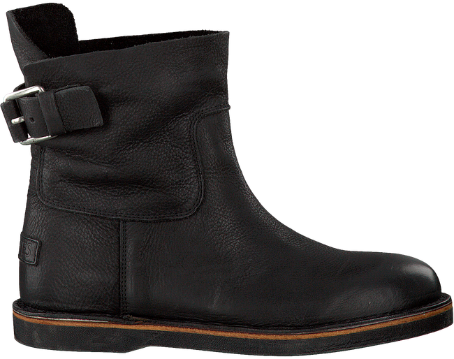 Zwarte SHABBIES Enkelboots 181020020  - large