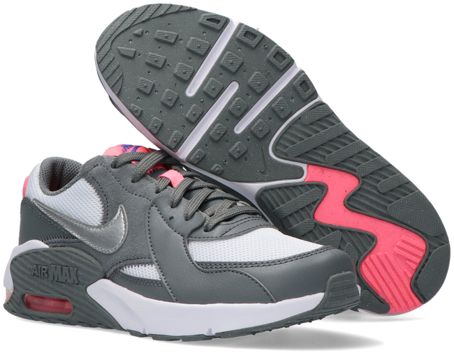 Grijze NIKE Lage sneakers AIR MAX EXCEE (GS)  - large