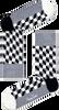 Grijze HAPPY SOCKS Sokken FILLED OPTIC - small