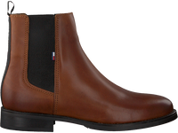 Cognac TOMMY HILFIGER Chelsea boots ESSENTIAL DRESSED  - medium