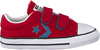 Rode CONVERSE Sneakers STAR PLAYER 2V OX KIDS - small
