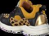Gele BRAQEEZ Sneakers RENEE RUN  - small