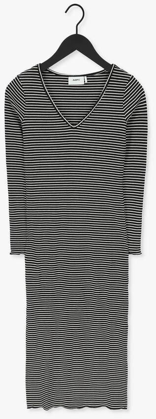 Zwarte MOVES Maxi jurk MOLISA-LS  - larger