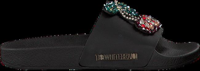 Zwarte THE WHITE BRAND Slippers CHERRYS - large