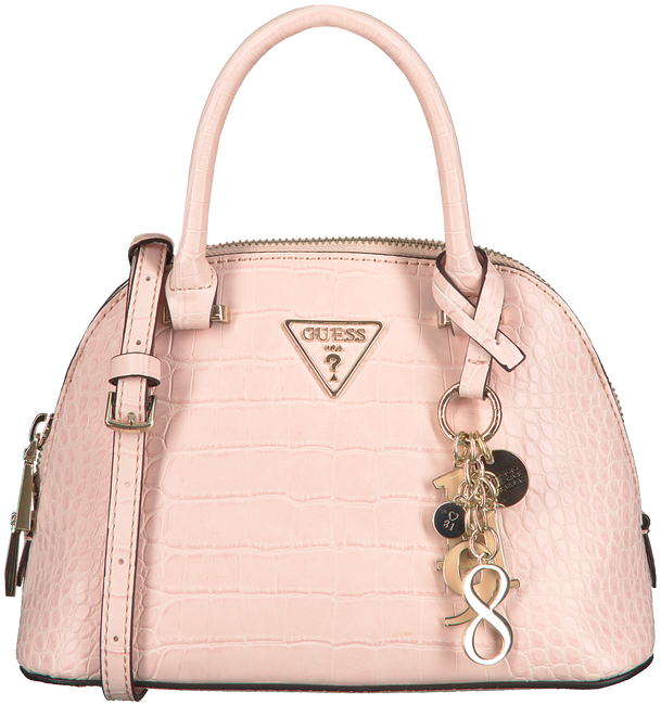 Roze GUESS Schoudertas MADDY SMALL DOME SATCHEL