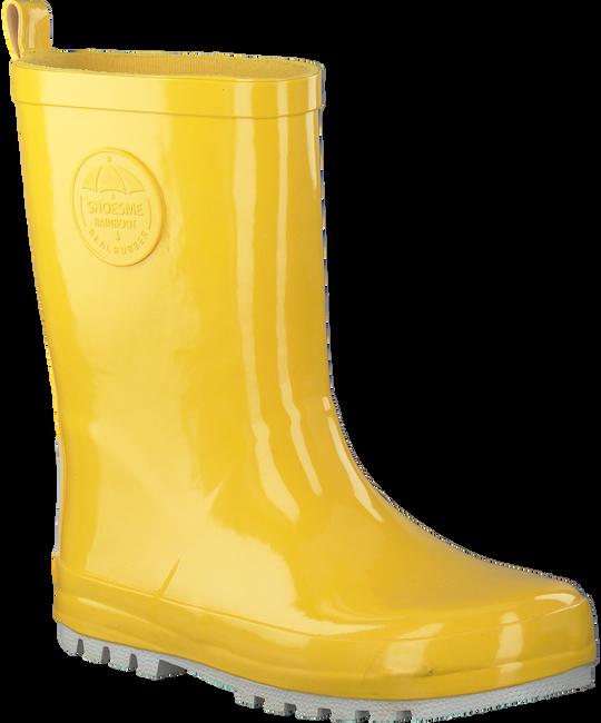 Gele SHOESME Regenlaarzen RB7A092  - large