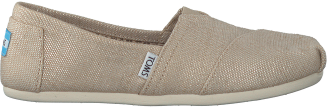 Beige TOMS Instappers CLASSIC - large