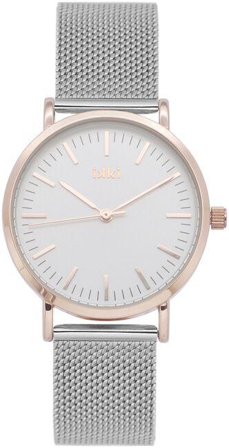 Zilveren IKKI Horloge HAYLEY - large