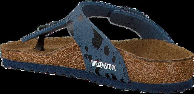 Blauwe BIRKENSTOCK PAPILLIO Slippers GIZEH KIDS  - large