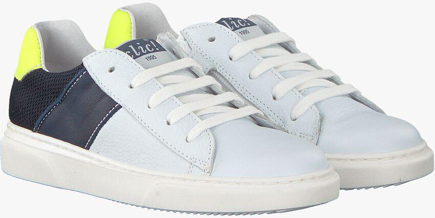 Witte CLIC! Sneakers KAZAN - larger