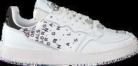 Witte ADIDAS Lage sneakers SUPERCOURT W  - medium