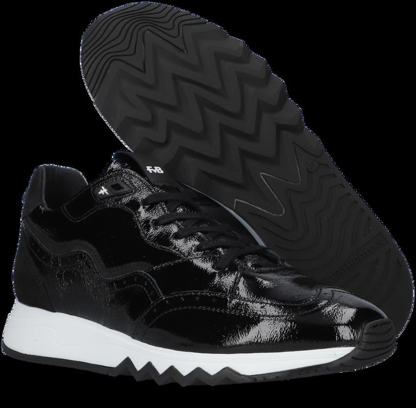 Zwarte FLORIS VAN BOMMEL Lage sneakers 85287  - larger