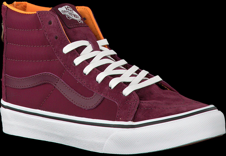Rode VANS Sneakers SK8 HI SLIM ZIP   Omoda