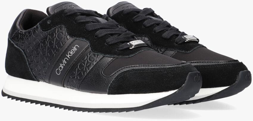 Zwarte CALVIN KLEIN Lage sneakers RETRO RUNNER  - larger
