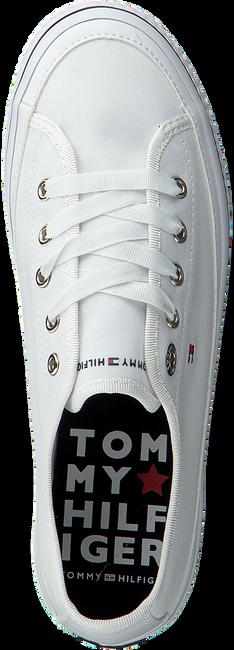 Witte TOMMY HILFIGER Sneakers CORPORATE FLATFORM SNEAKER  - large