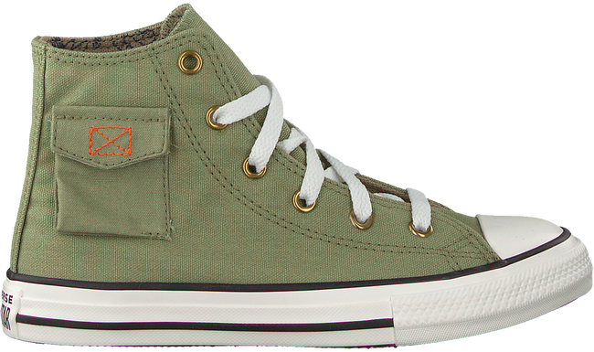 Groene CONVERSE Hoge sneaker CHUCK TAYLOR ALL STAR POCKET  - large