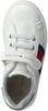 Witte TOMMY HILFIGER Lage sneakers LOW CUT LACE-UP/VELCRO SNEAKER  - small
