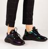 Zwarte FLORIS VAN BOMMEL Sneakers 85293  - small